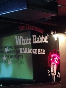 White Rabbit Karaoke Bar (Our Favourite)