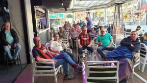Watching the Bournemouth game in Planet Benidorm sunday afternoon. Sadly lost 2.1